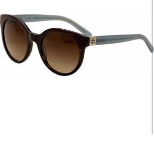 Tory Burch designer sunglasses with blue detail
